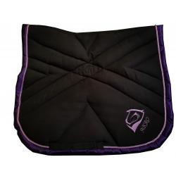 Tapis Mixte Noir-Violet