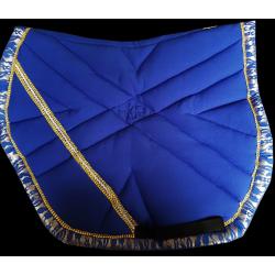 Tapis Sport Bleu Roi-dentelle
