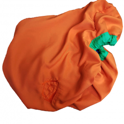 housse de selle Coton et Polaire Orange
